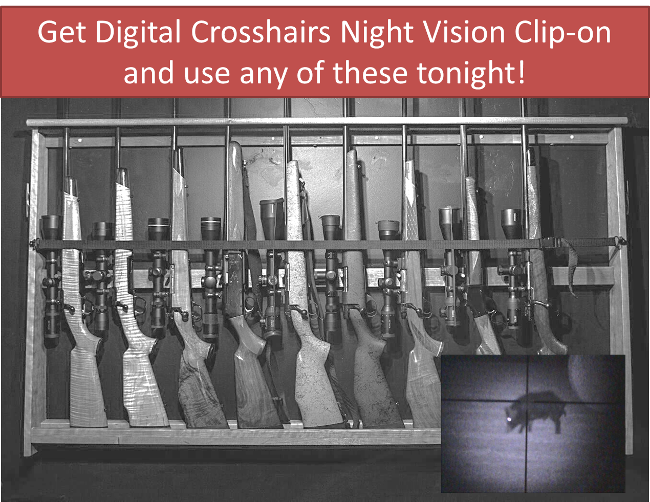 Night Vision Clip-on
