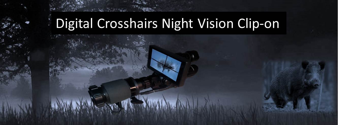 night vision scope clip-on