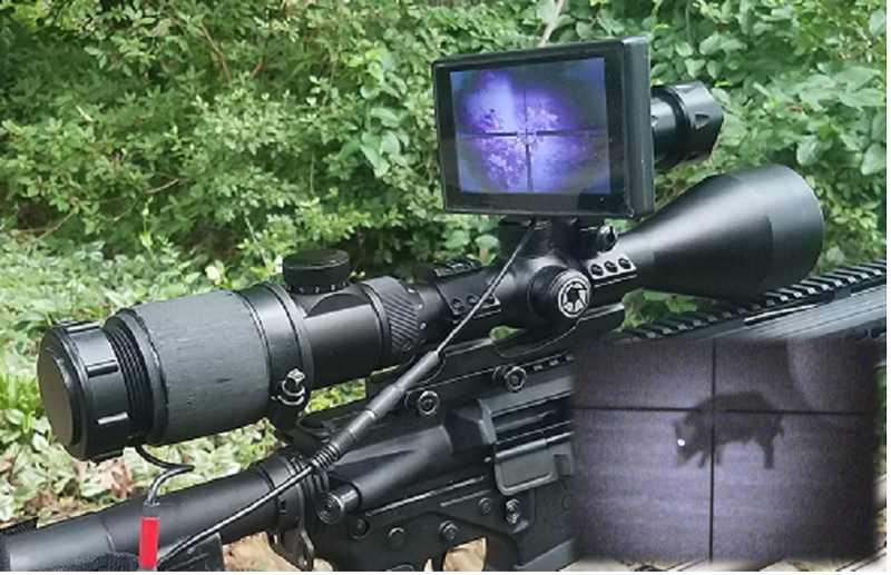 New Night Vision Scope Clip-on With HD Audio & Video Recording